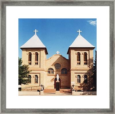 St. Albino Church Framed Print