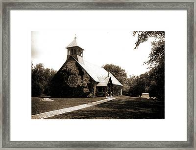 St. Andrews By-the-sea, Rye Beach Framed Print by Litz Collection