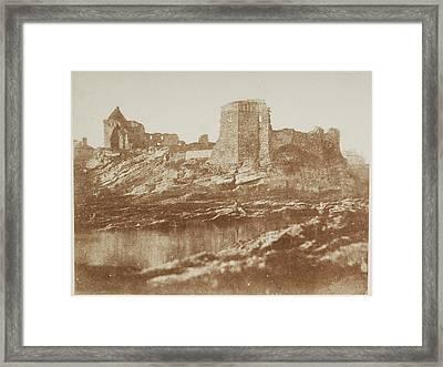 St. Andrew's Castle. Framed Print