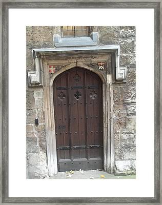 St. Andrew's Door Framed Print