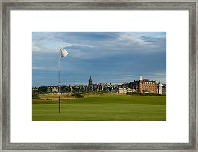 St Andrews Golf Framed Print by Jeremy Voisey