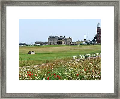 St Andrews Royal And Ancient Golf Course Framed Print