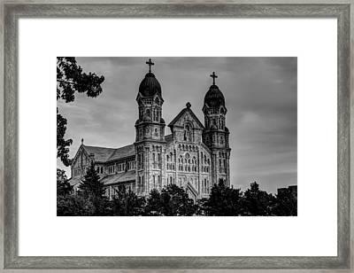 St Anne's Church Fall River Ma Framed Print
