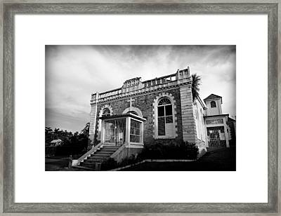 St Ann's Bay Baptist Church Framed Print