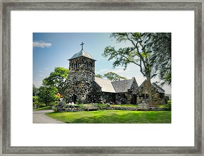 St. Ann's Episcopal Church Framed Print by Diana Angstadt