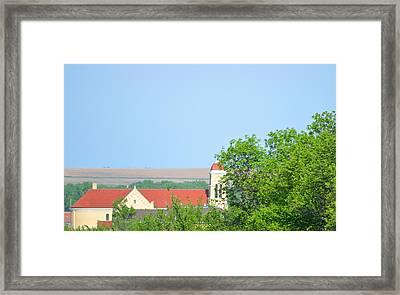 St Anthonys Cedar Rapids Ne Framed Print