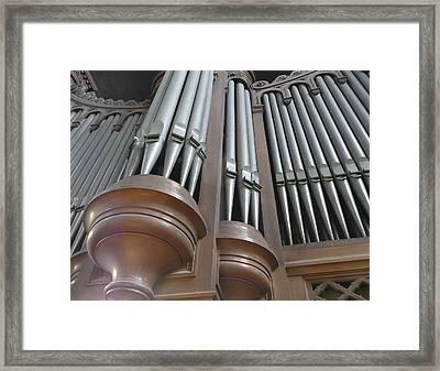 St Augustin Organ Framed Print