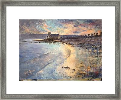 St. Augustine Abbey Golden Hour Framed Print by Keith Thompson