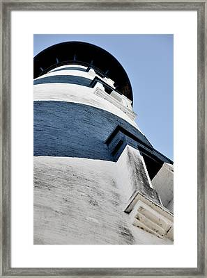 St Augustine Lighthouse - Angels And Ghosts Framed Print by Christine Till