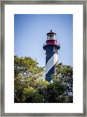 St. Augustine Lighthouse Framed Print by Carolyn Marshall