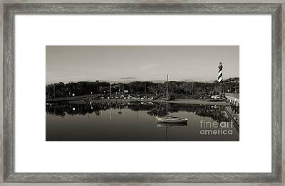 St. Augustine Lighthouse Park Beach 2 Framed Print
