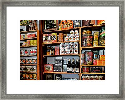 St Augustine's Oldest Store Framed Print by Christine Till
