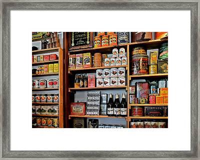 St Augustine's Oldest Store Framed Print