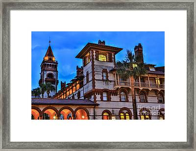 Framed Print featuring the photograph St. Augustine's View by Paula Porterfield-Izzo