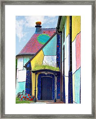 St Barbara Church - Baernbach Austria Framed Print by Christine Till