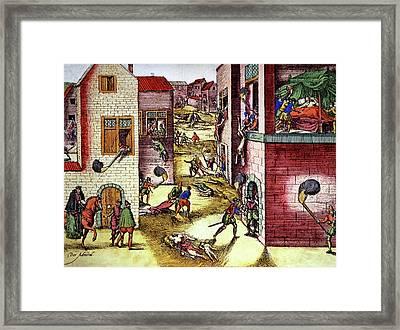 St Bartholomew's Day Massacre Framed Print