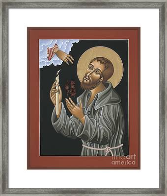 Framed Print featuring the painting St. Benedict Joseph Labre 062 by William Hart McNichols