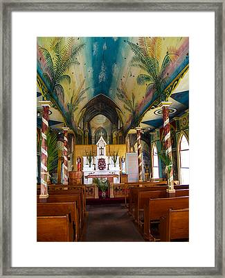 St Benedicts Framed Print