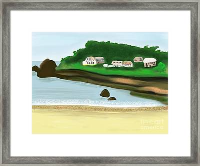 A Peaceful Life  Framed Print