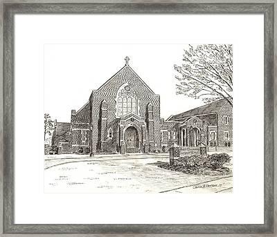St. Bridgets Church Framed Print