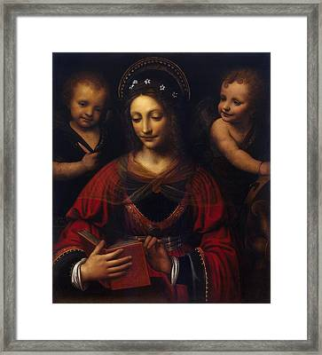 St Catherine  Framed Print by Celestial Images