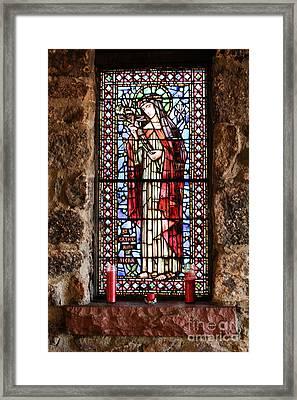St. Catherine Of Siena Framed Print