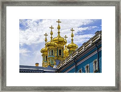 St Catherine Palace - St Petersburg Russia Framed Print by Jon Berghoff