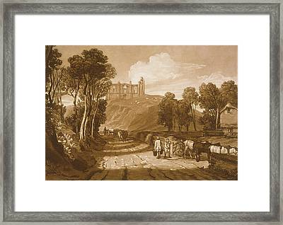 St Catherines Hill Near Guildford Framed Print by Joseph Mallord William Turner