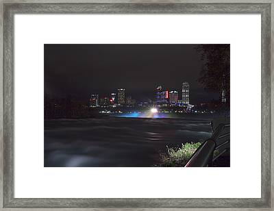 St Catherines Skyline Framed Print by Chris Babcock