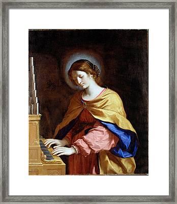 St Cecilia Framed Print