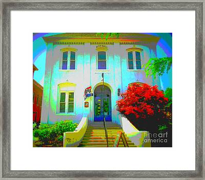 St. Charles County City Hall Painted Framed Print