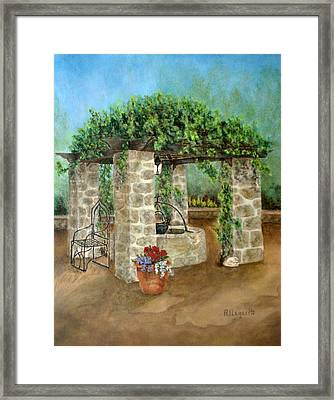 St. Clement's Castle Framed Print by Pamela Allegretto