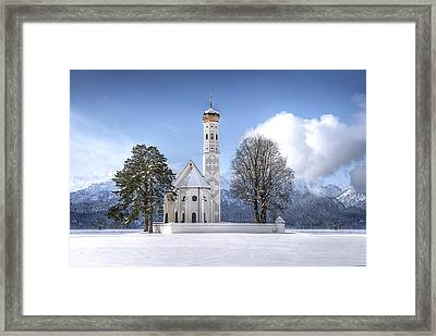 St Colemans Church Framed Print