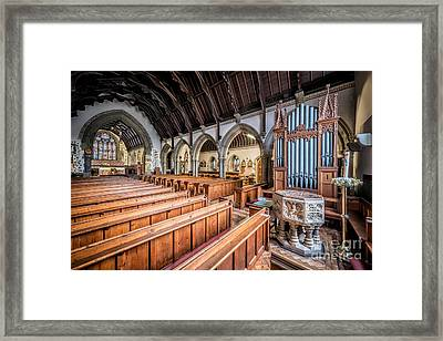 St David Church Framed Print by Adrian Evans