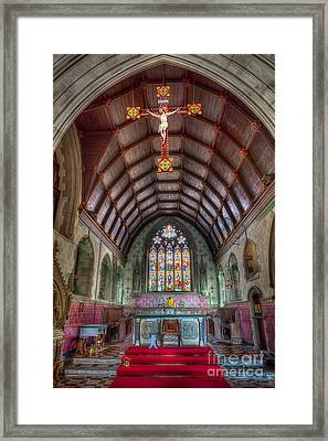St David's Framed Print by Adrian Evans