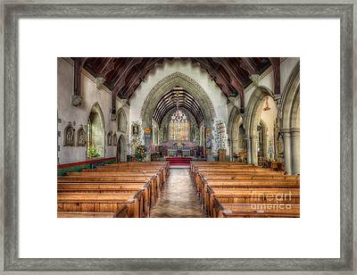 St Davids Church Framed Print by Adrian Evans