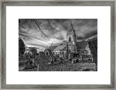 St David's Pantasaph Framed Print by Adrian Evans