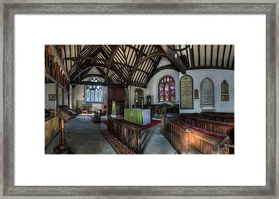 St Digain's Framed Print by Ian Mitchell