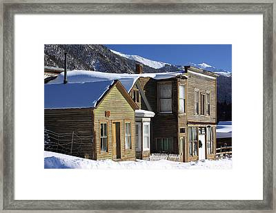 St. Elmo Ghost Town Framed Print by Eric Glaser