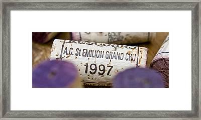 St Emilion Grand Cru Framed Print by Frank Tschakert