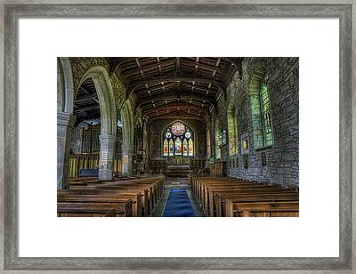 St Eurgain Framed Print by Ian Mitchell