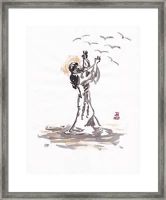St. Francis 2 Framed Print by Jason Honeycutt