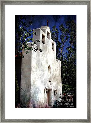 St. Francis De Paula Framed Print by Barbara Chichester