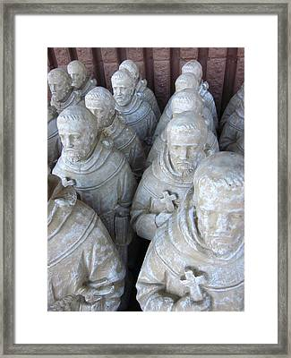 St. Francis In Abundance Framed Print by Guy Ricketts