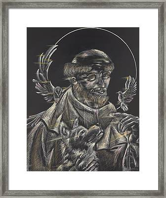 St. Francis Of Assisi Framed Print