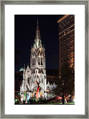 St. Francis Xavier Church Framed Print