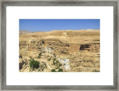 St. George Greek Orthodox Monastery Framed Print