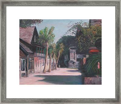 St. George Street II Framed Print