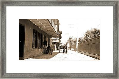 St. George Street Framed Print by Litz Collection
