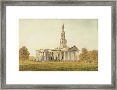 St George's Cathedral Framed Print by British Library